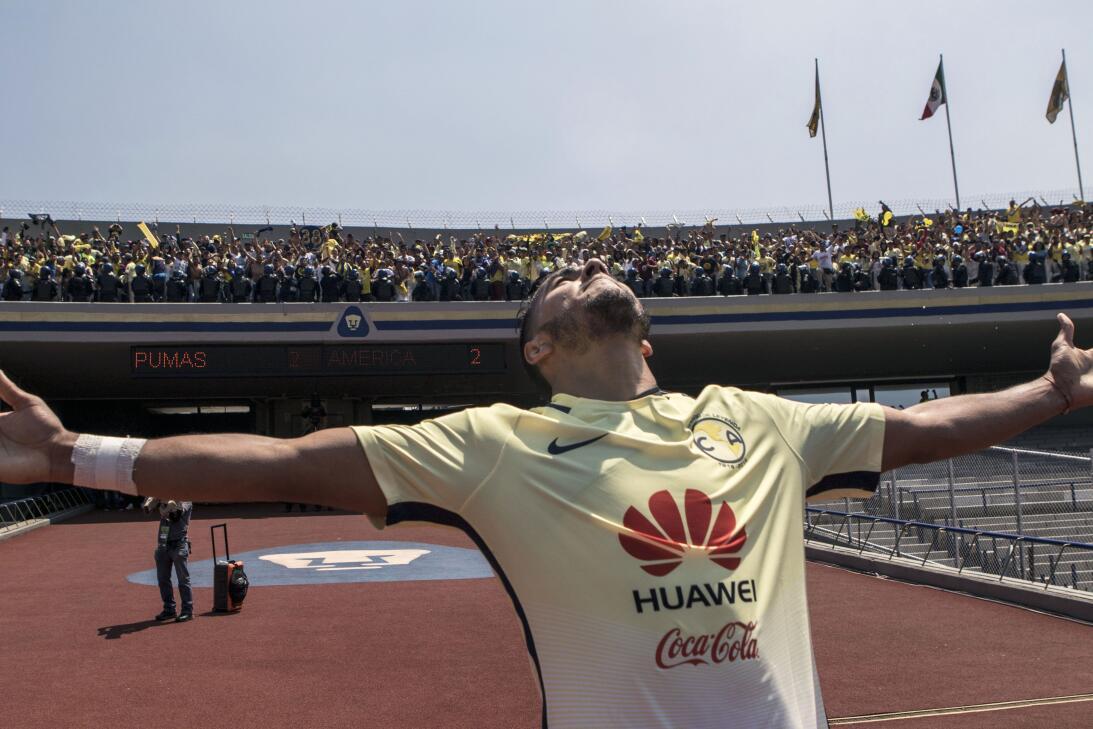 América sufrió, pero al final derrotó 3-2 a los Pumas en CU 026 Festejo...