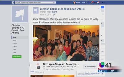 Una organización en redes sociales ayuda a solteros de San Antonio a enc...