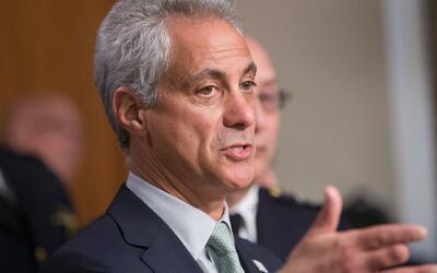 Rahm Emanuel sobre supuesta movilización de Guardia Nacional para redada...