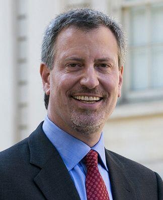 Bill de Blasio, el nuevo alcalde de Nueva York, fue considerado el más p...
