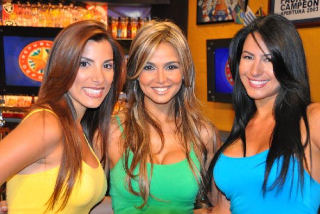 Aquí tienes al trío de mujeres más hermoso de toda la televisión en espa...