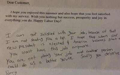 The letter María Ramírez received.
