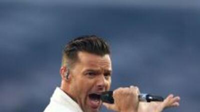Ricky Martin arranca gira en Australia