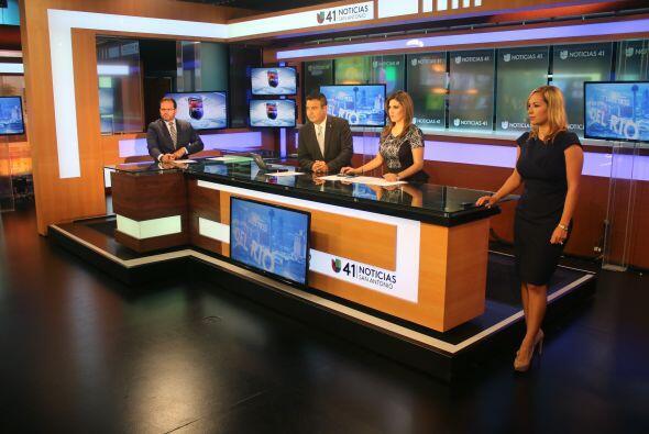 El equipo actual del noticiero de Univision 41