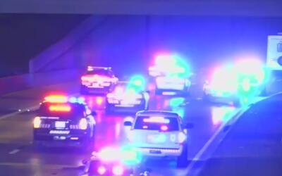 Persecución policial terminó con el sospechoso muerto en Arlington