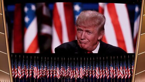 Más de 30 millones de personas vieron el discurso del magnate por...