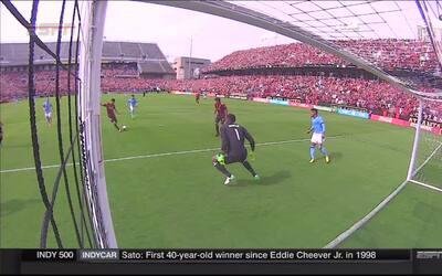 Miguel Almirón fusila a Sean Johnson y abre la cuenta por Atlanta United