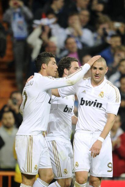 Los delanteros del Real Madrid son letales y no perdonan.