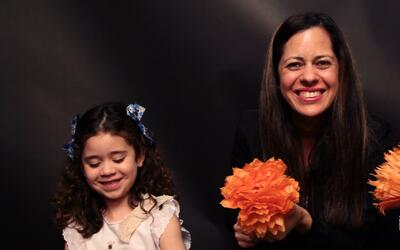 Flores de cempasúchil: cómo crear estas flores de papel e involucrar a l...