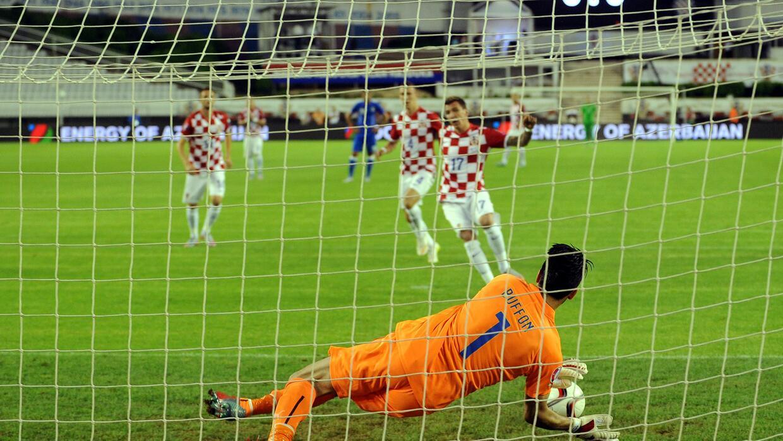 El portero de Italia llegó a 50 partidos de Euro ante Croacia