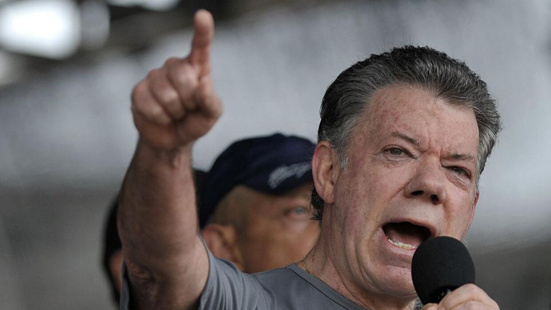 Cae la favorabilidad de Juan Manuel Santos