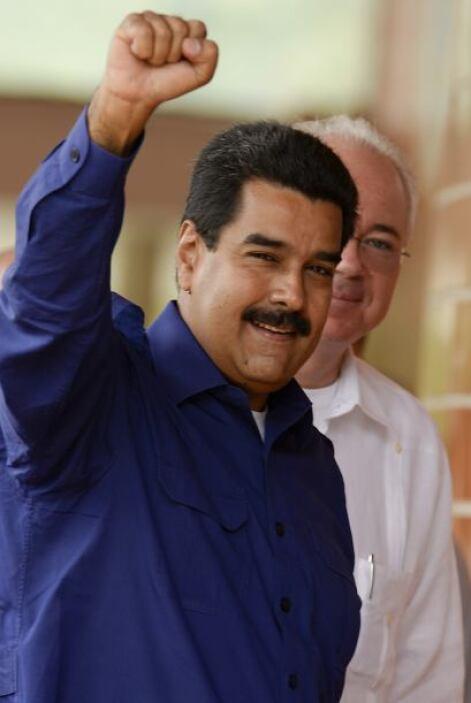 El sucesor de Hugo Chávez al frente de la política de Venezuela fue Nico...