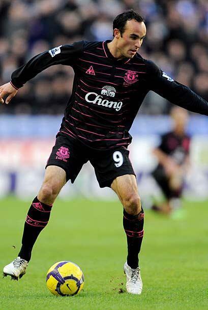 El Everton de Landon Donovan derrotó 1-0 al Wigan del técn...