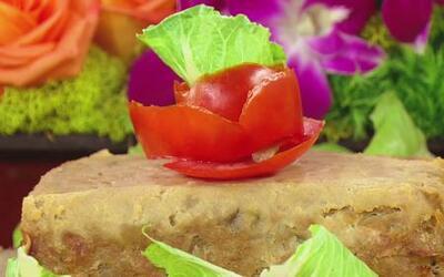 Chef Pepín preparó 'Meatloaf' de Pavo para comenzar la semana