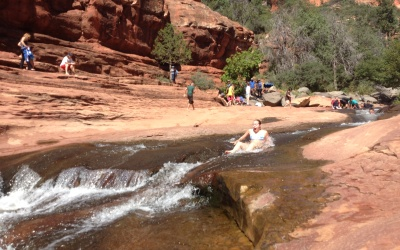 Slide Rock en Sedona, Arizona