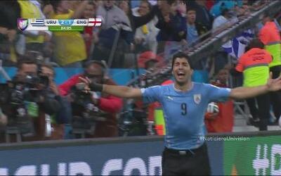 Luis Suarez, el 'santo' que salvó a Uruguay en el Mundial