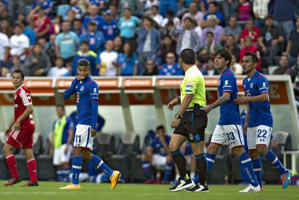 En el aspecto disciplinario el Cruz Azul no podrá contar con Joao...
