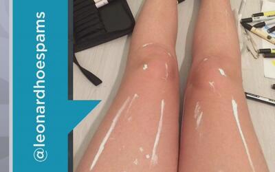 Foto de piernas se ha vuelto viral en internet ¿Serán reales?