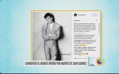 Artistas boricuas recuerdan legado de Juan Gabriel
