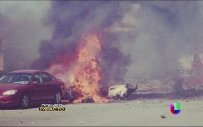 Jet militar de pruebas se estrelló en zona habitacional de California