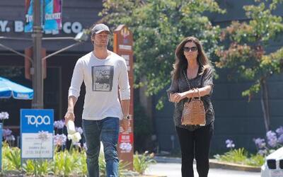 María Shriver y Patrick Schwarzenegger salen por un lunch