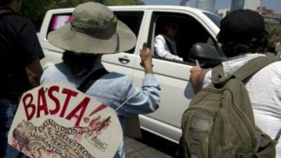 """La""""Marcha por la Dignidad Nacional, Madres buscando a sus hijos e hijas..."""