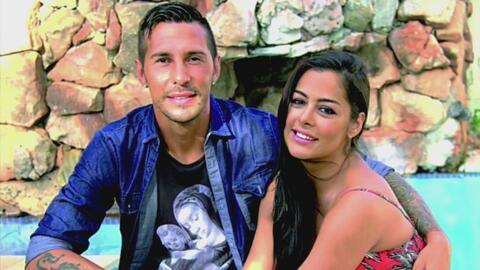 El amor en la Liga MX: Larissa Riquelme y Jonathan Fabbro en el día de S...