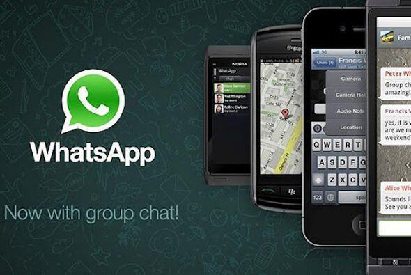 La mejor aplicación móvil.  WhatsApp, la aplicación que ha llegado a los...