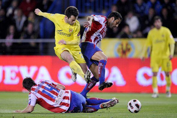 Villarreal intentó marcar otro tanto para su mayor tranquilidad.