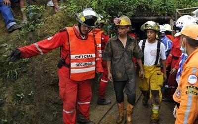 El yacimiento de carbón de Loma Gorda, en Cali, Colombia, sorprendió a l...