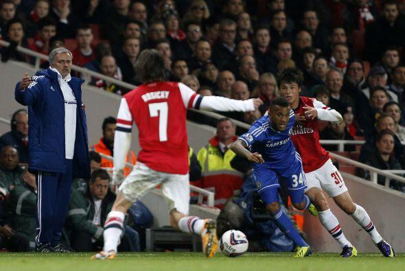 Los hombres de Mourinho dejaron fuera a los pupilos de Arsene Wenger.