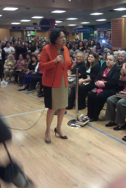 Sonia Sotomayor en Austin