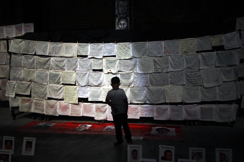 La lucha contra el crimen organizado ha dejado más de 28,000 desaparecid...