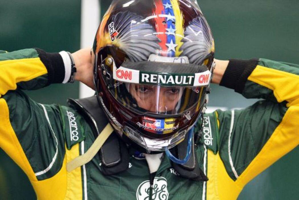 """El piloto venezolano Rodolfo """"Speedy"""" González, quien participa en los e..."""