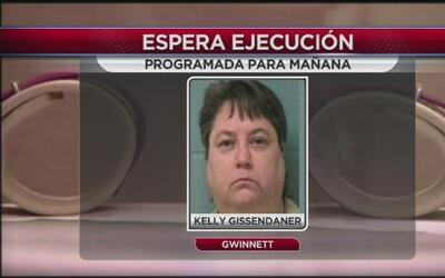 24 horas para la ejecución de Kelly Gissendarner