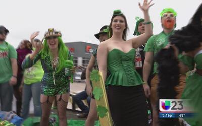 Se esperan más de 120 mil personas a desfile de San Patricio