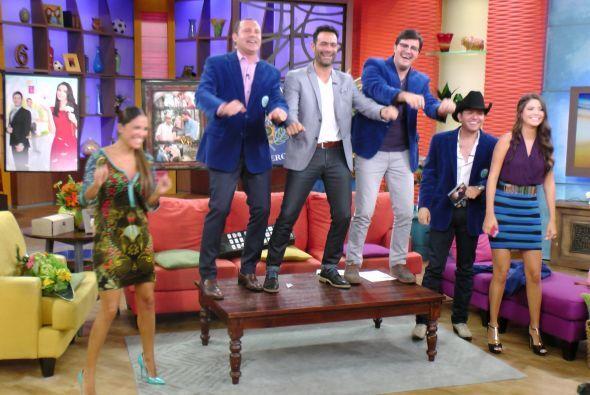 Alan, Luis Roberto y Paul bailaron al estilo de 'Súbete a mi moto'. ¡Qué...