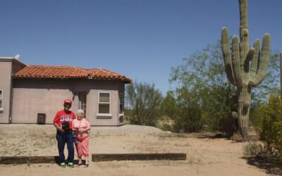 Barbara y James Reyes en Arizona