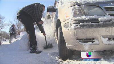Furiosos residentes por limpieza de nieve