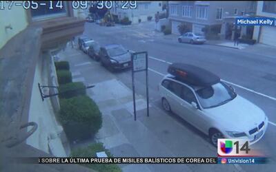 Se registra un tiroteo entre los ocupantes de dos autos en movimiento en...