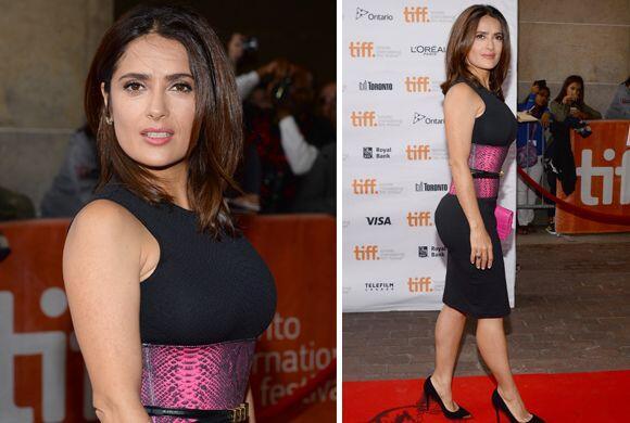 La actriz de 48 años de edad derrochó sensualidad gracias...