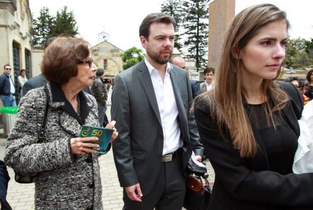 Carlos Fernando Galán, hijo del político asesinado Luis Carlos Galán, as...