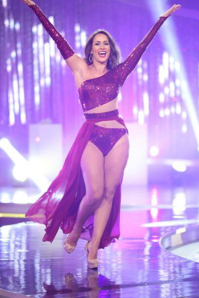 Melissa Marty lució extremadamente sexy. La famosa ha hecho una carrera...