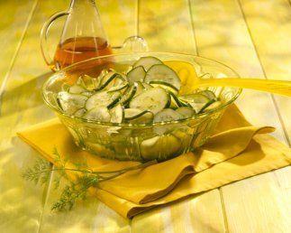 Ensalada de pepinos: Qué mejor acompañante de un pescado que unos delici...