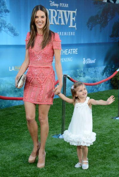 ¡Anja Ambrosio debutó como modelo junto a su mamá el...