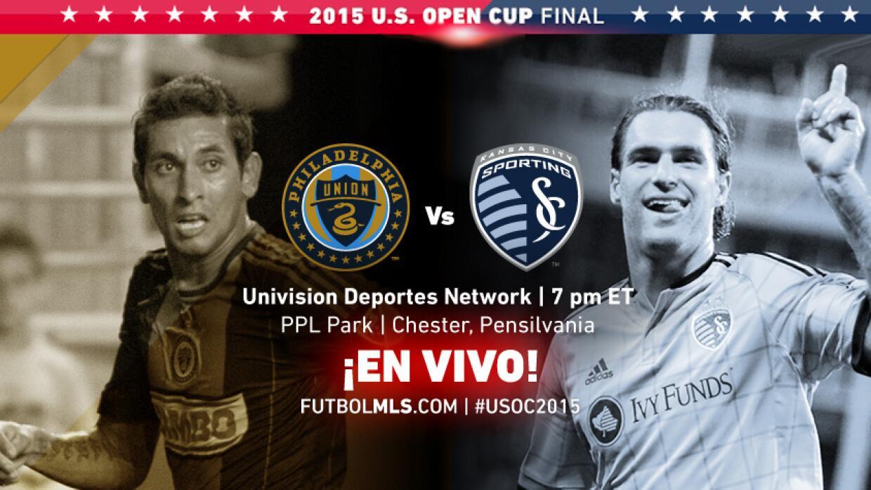 EN VIVO Philadelphia Union vs Sporting KC | US Open Cup Final