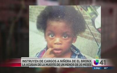 Niñera acusada por muerte de niña