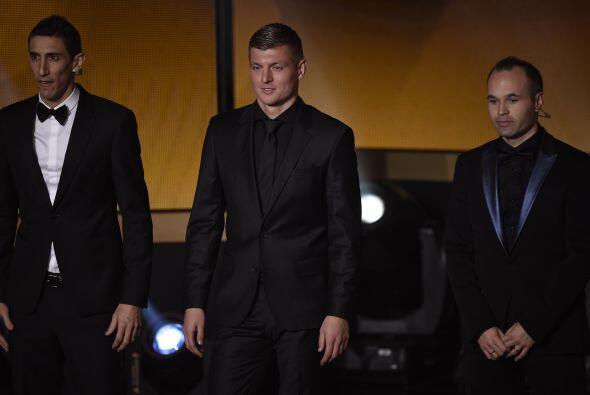 El alemán Toni Kroos, campeón del mundo con su selecci&oac...
