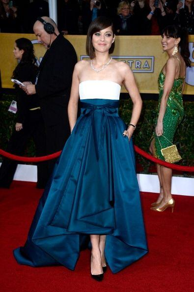 El Christian Dior de Marion Cotillard  es un vestidazo que todas desear&...