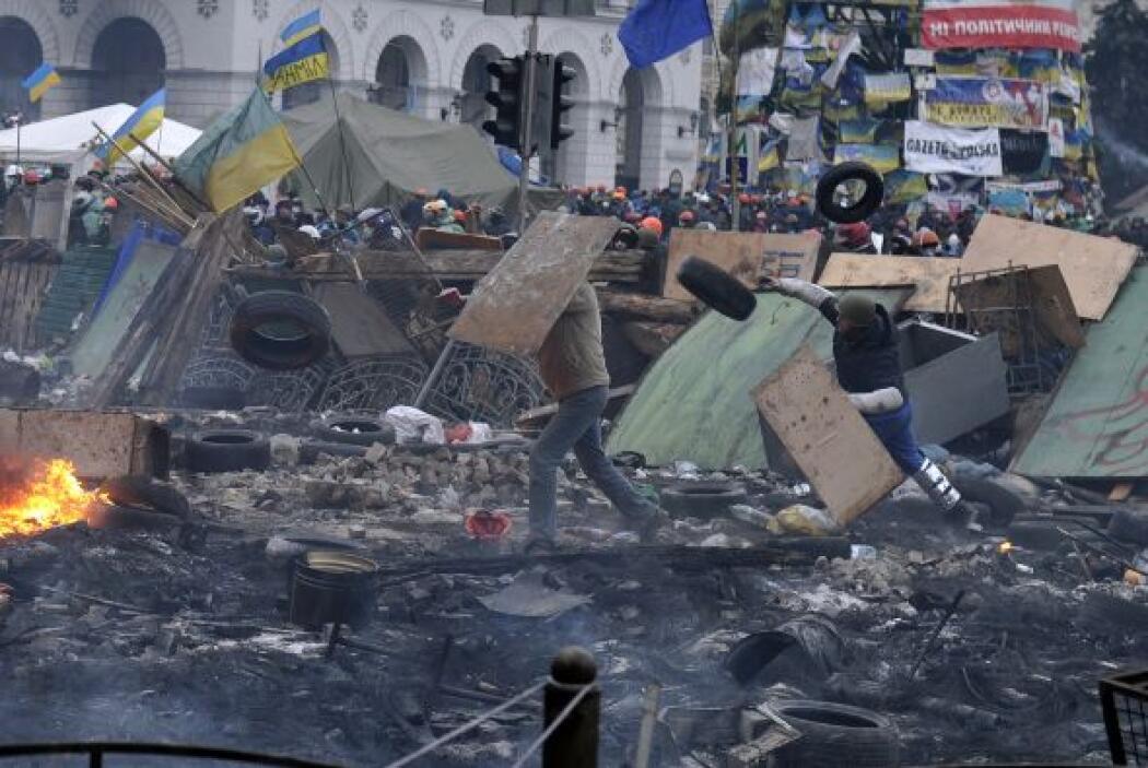 El 22 de enero dos manifestantes mueren después de ser baleados y un ter...